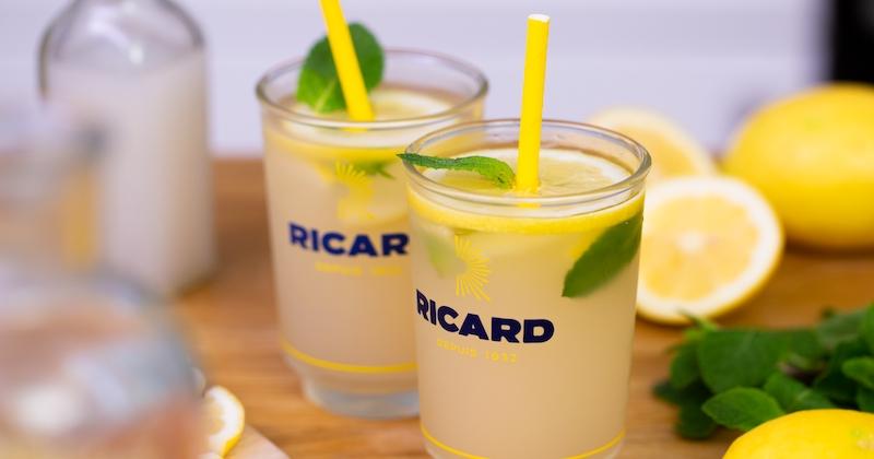 Découvrez le Ricard Jaune Lemon, le cocktail de l'été au citron et à l'orgeat!