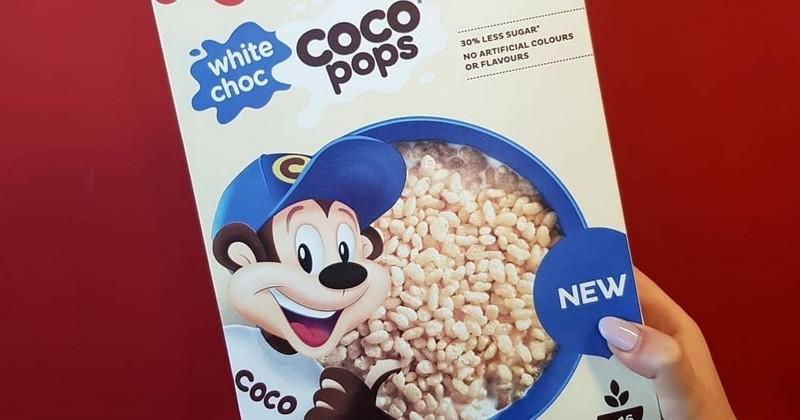 Les Coco Pops en version chocolat blanc, une nouveauté qui va ravir les fans de ces céréales croustillantes !
