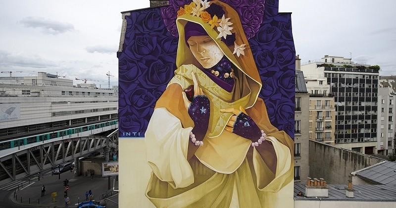 Paris : Un véritable musée de street-art à ciel ouvert inauguré dans le 13e arrondissement