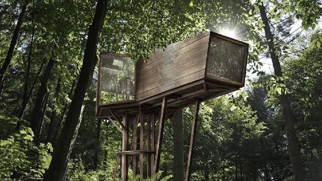 Cabane En Bois Dans Les Arbres : Les cabanes dans les arbres les plus originales