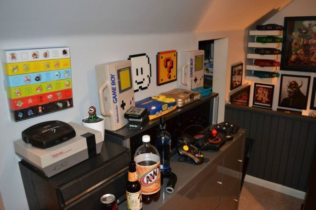La chambre r v d 39 un gamer for Chambre zelda