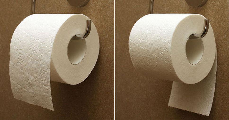 Ce sch ma vieux de 124 ans r v le enfin la bonne mani re d - Papier peint rouleau de papier toilette ...
