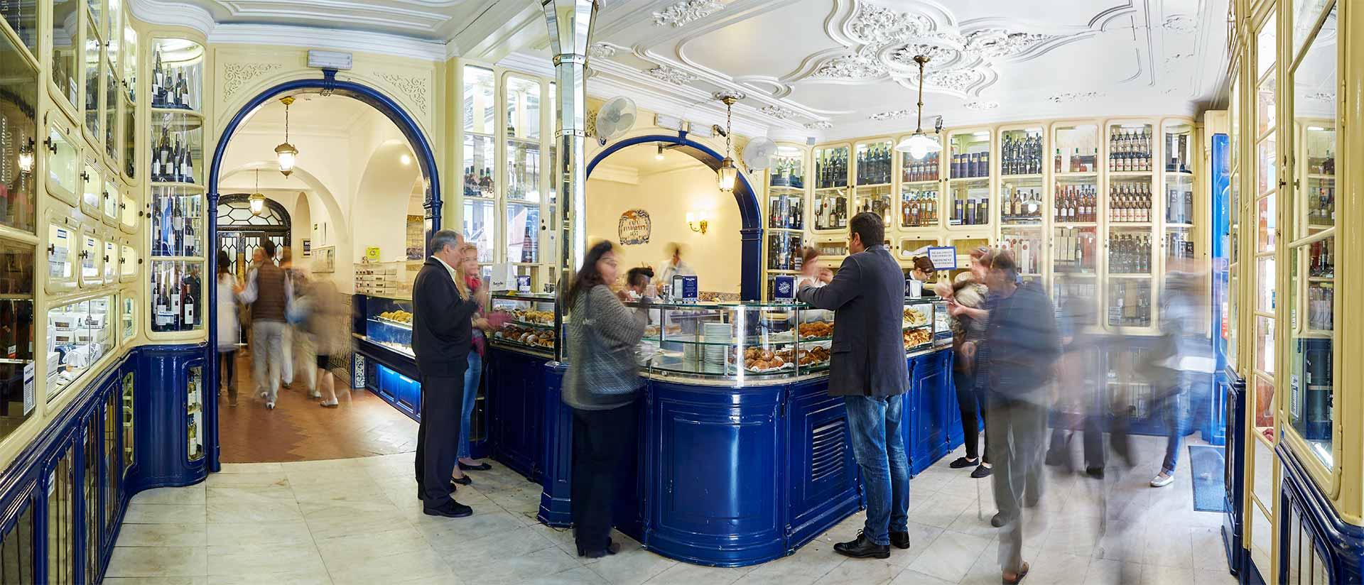 Lisbonne  « Pastéis de Belém », la meilleure pâtisserie du monde où l\u0027on  se régale pour seulement 1\u20ac