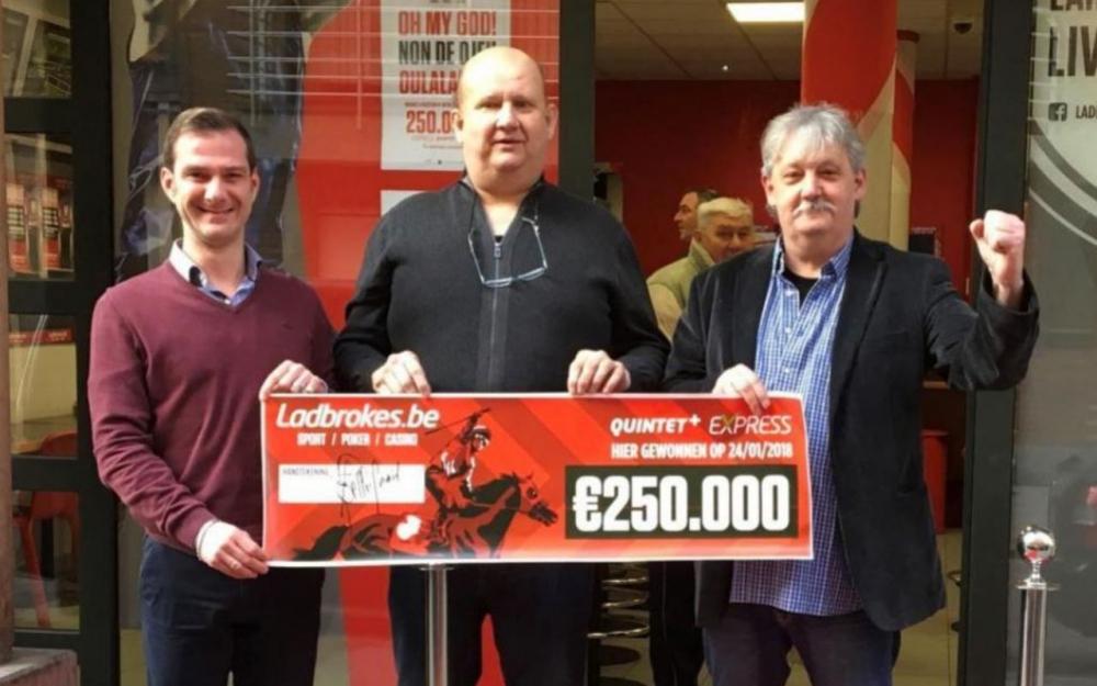 Un SDF mise 3 euros au Quinté et remporte 250.000 euros — Belgique