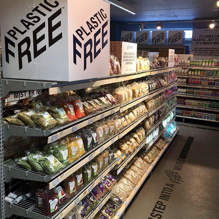 A Amsterdam, 700 produits sans emballages plastiques vendus au supermarché