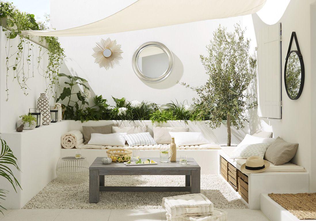 Aménager Son Balcon Avec Des Palettes en panne d'inspiration pour décorer votre terrasse ? jetez