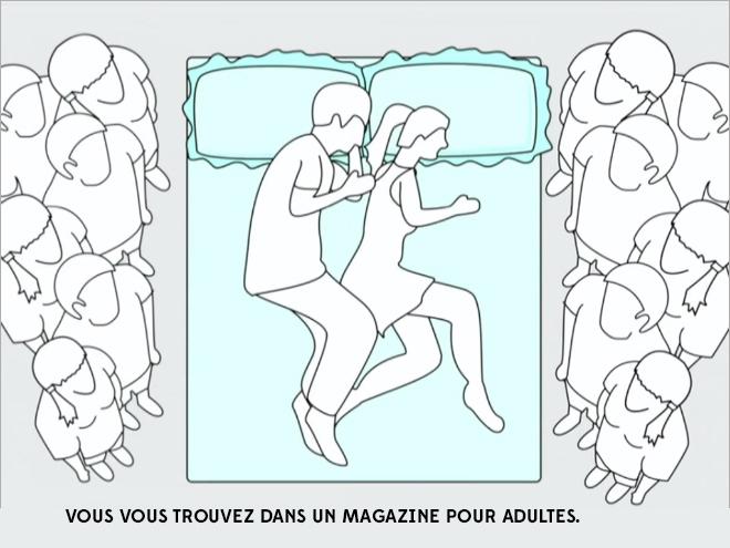 10 illustrations hilarantes qui d cryptent votre position dans le lit vous allez tre tr s. Black Bedroom Furniture Sets. Home Design Ideas