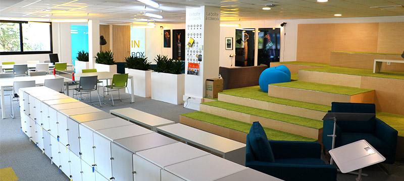 les 10 plus beaux espaces de co working o travailler dans un environnement sain et agr able. Black Bedroom Furniture Sets. Home Design Ideas