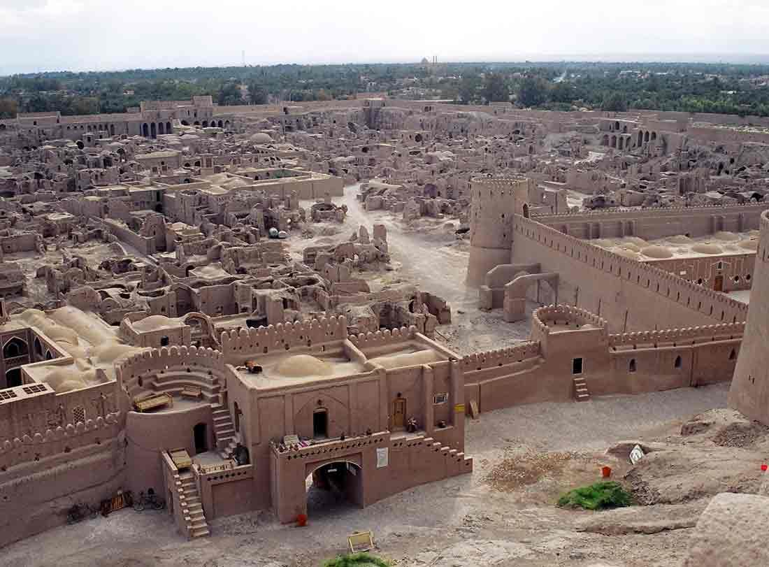 La citadelle d'Arg-é Bam, l'un des plus beaux édifices d'Iran ! Par Clément P. Sheldonchsmith