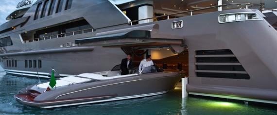 D couvrez le tout premier yacht avec un garage int gr cela risque d 39 en - Yacht de luxe interieur ...