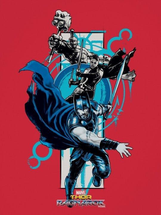 171 Thor Ragnarok 187 Marvel D 233 Voile 10 Posters Vintage 224