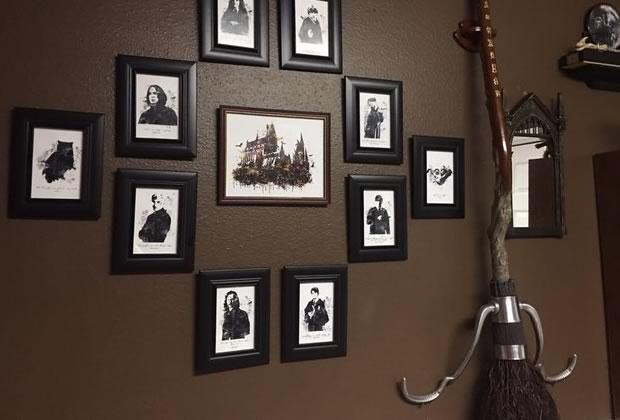 20 fa ons de d corer votre demeure l 39 image du sorcier for Decoration murale harry potter