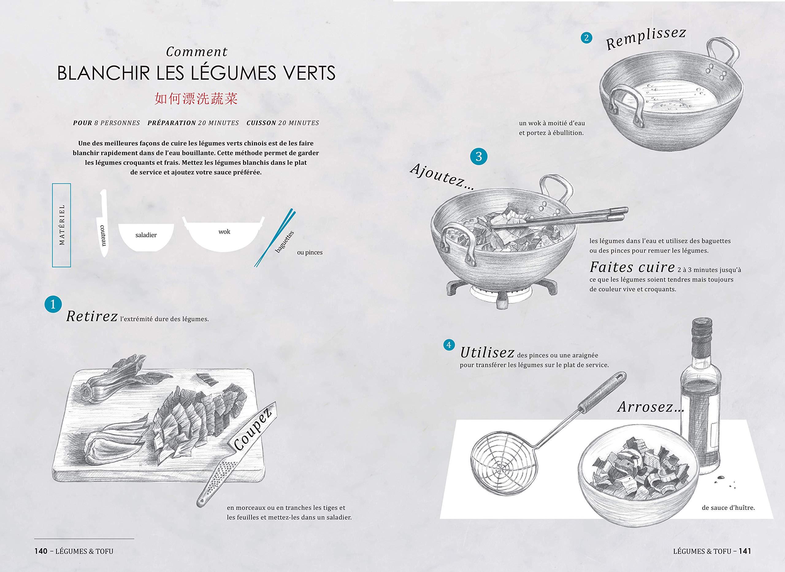 Cuisiner chinois un livre pour d couvrir la cuisine chinoise apprendre des techniques de - Chinois pour la cuisine ...