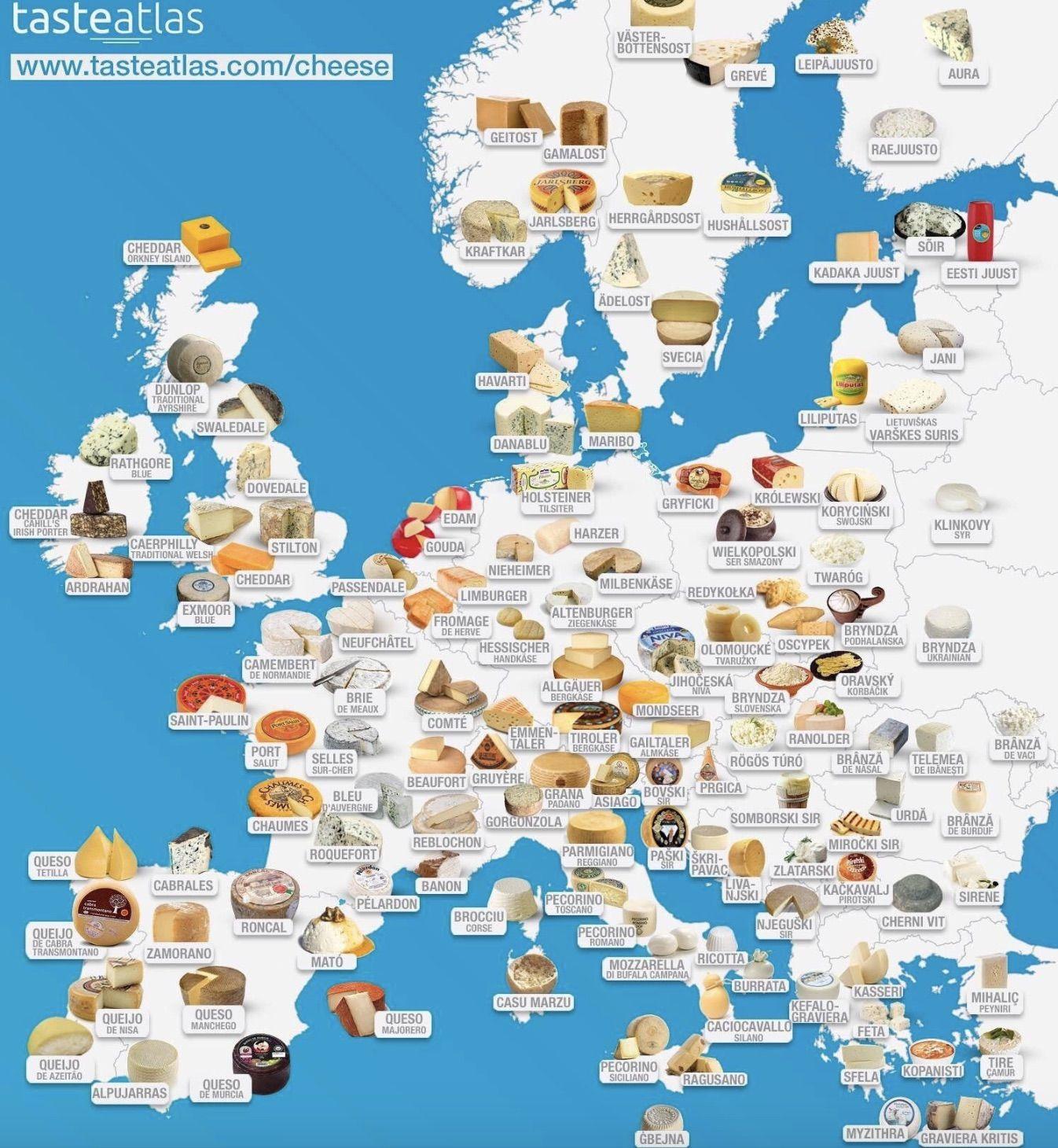 Carte Du Monde Interactive.Les Fromages Les Plus Populaires Du Monde A Decouvrir A