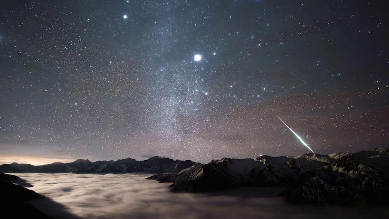 Les Géminides : la dernière pluie d'étoiles filantes de 2017