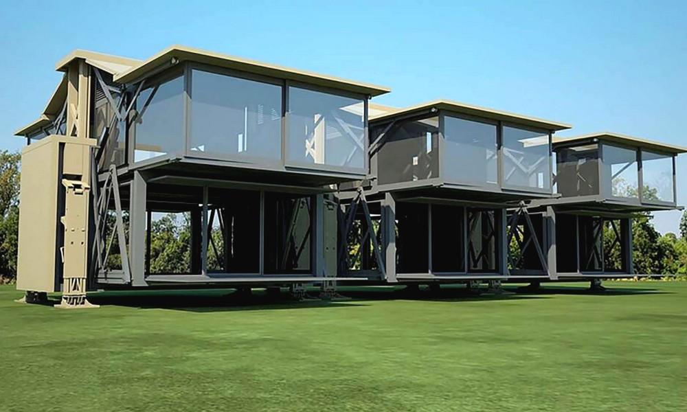 les maisons pliables vont surgir dans notre quotidien. Black Bedroom Furniture Sets. Home Design Ideas