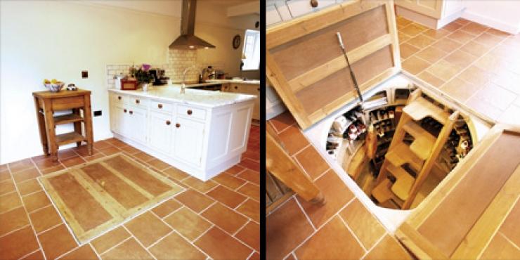 Как сделать подвал на кухне