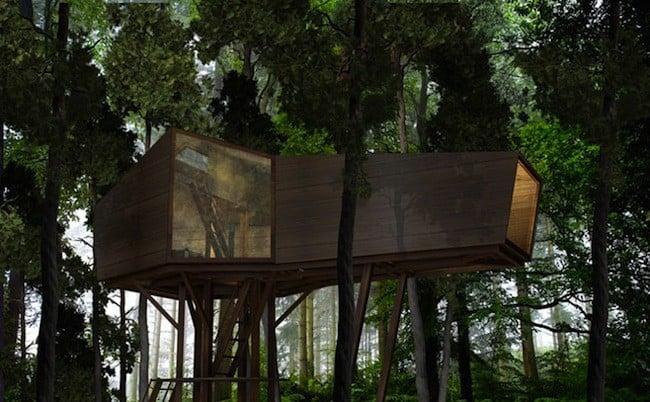 Les cabanes dans les arbres les plus originales - Cabanes de jardin originales ...