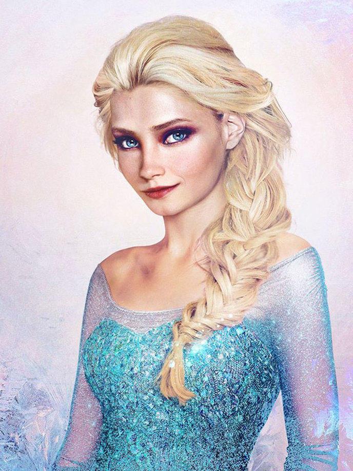 A quoi ressemblerait les princesses disney dans la vraie vie un artiste a trouv la r ponse - Reponse la princesse ...