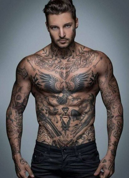 Good Morning My Angel In Russian : Ces quinze hommes tatoués vont vous donner soif