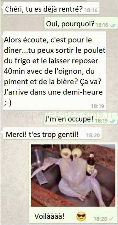 Super 20 textos de couple hilarants, qui montrent que l'amour et la  XH07
