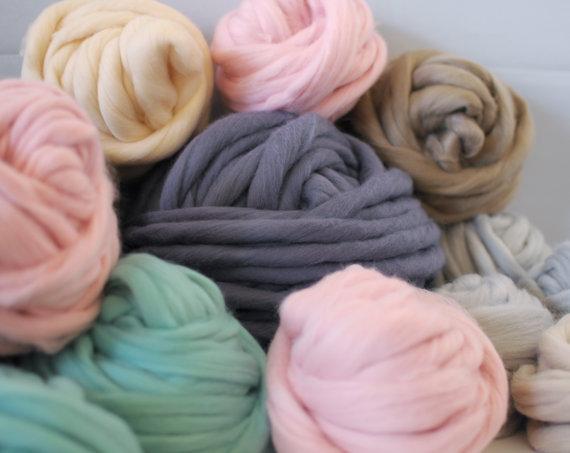 Couverture grosse laine affordable couverture plaid couverture en tricot en lainefil de laine - Grosse laine pour couverture ...