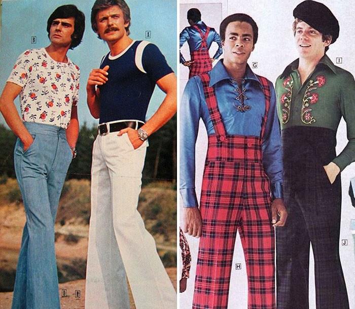 Les pantalons taille,haute étaient aussi à la mode chez les hommes.. On se  demande pourquoi, ce n\u0027est pas revenu.