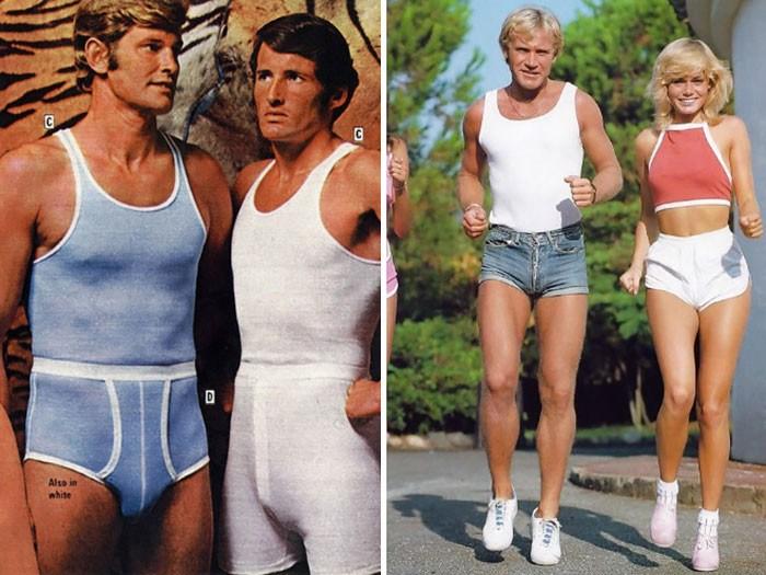 28. Je nose même pas imaginer faire un jogging avec un mini,short en jean ultra serré.