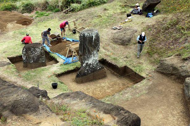 Statues de l'île de Pâques : mystère derrière leur emplacement révélé (vidéo) By Jack36 EASTER-ISLAND-STATUE-PROJECT