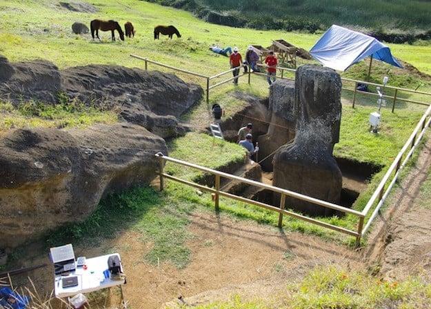 Statues de l'île de Pâques : mystère derrière leur emplacement révélé (vidéo) By Jack36 Easter-island-heads3