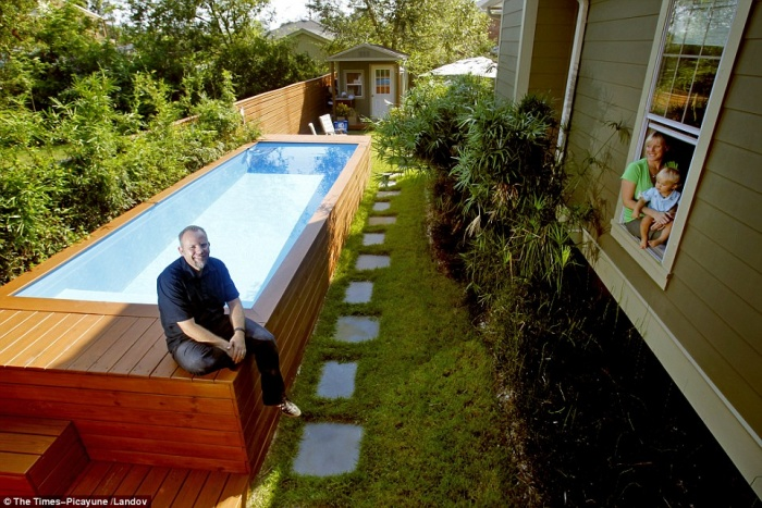 Un architecte transforme un conteneur en piscine le r sultat est absolument - Faire piscine container ...