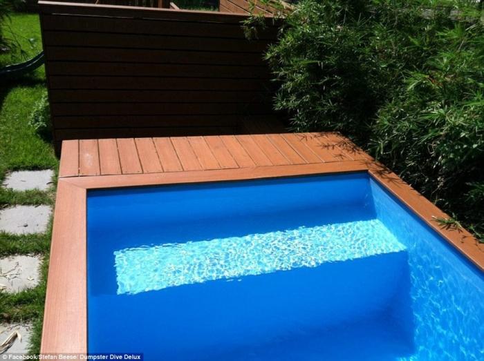 Un architecte transforme un conteneur en piscine le r sultat est absolument sublime et c 39 est - Piscine container ...