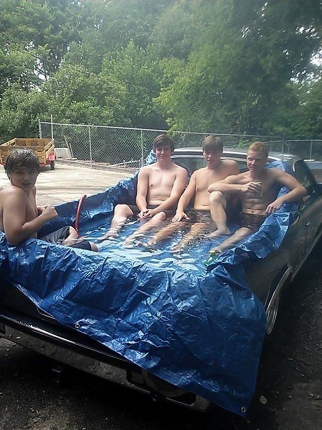 Vous n 39 avez pas de piscine voil quelques astuces pour for Modelos de piscinas caseras