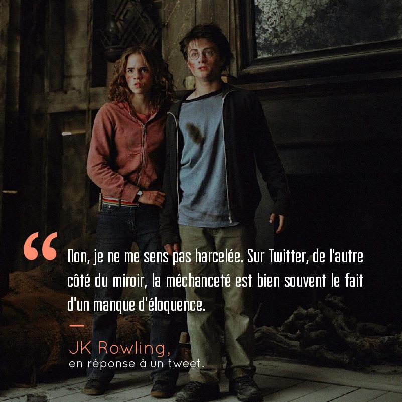 Voici 18 citations qui prouvent que Harry Potter et JK Rowling peuvent ...