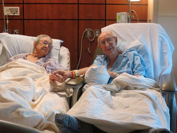 Agés de 96 et 92 ans, ils refusent de se séparer plus d\'une journée ...