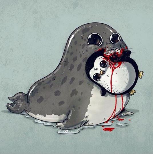 Dessin D Animaux Mignon 22 illustrations d'animaux qu'on trouve adorables habituellement