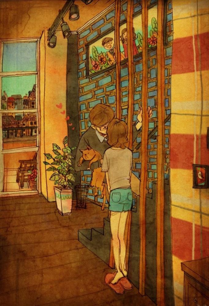 23 illustrations sur l amour qui r chaufferont m me les coeurs endurcis vous allez craquer. Black Bedroom Furniture Sets. Home Design Ideas