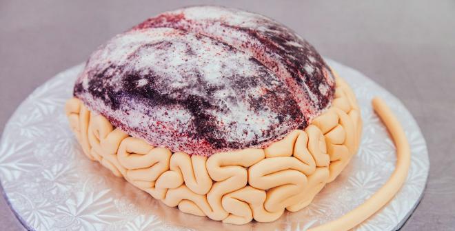 comment faire un gâteau en forme de cerveau pour halloween ? le