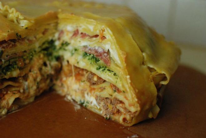 Recette Le gâteau lasagne