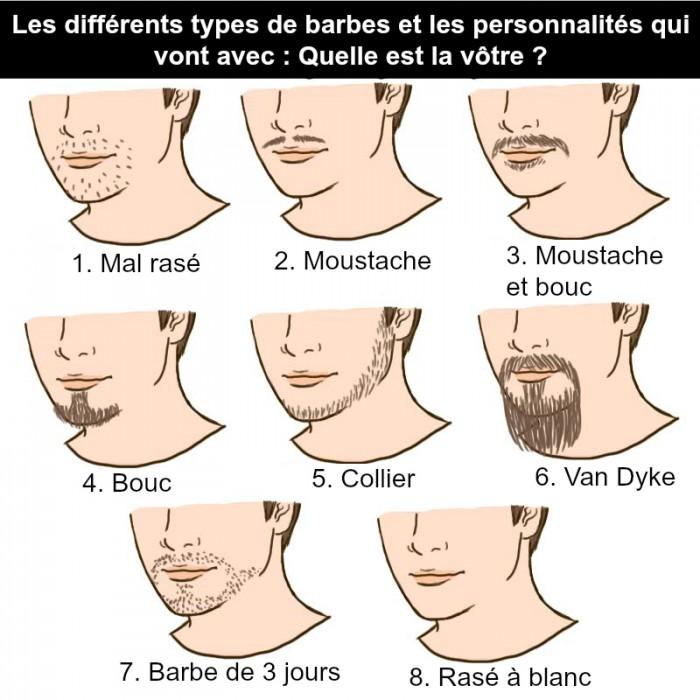 """Résultat de recherche d'images pour """"différents types de barbe"""""""