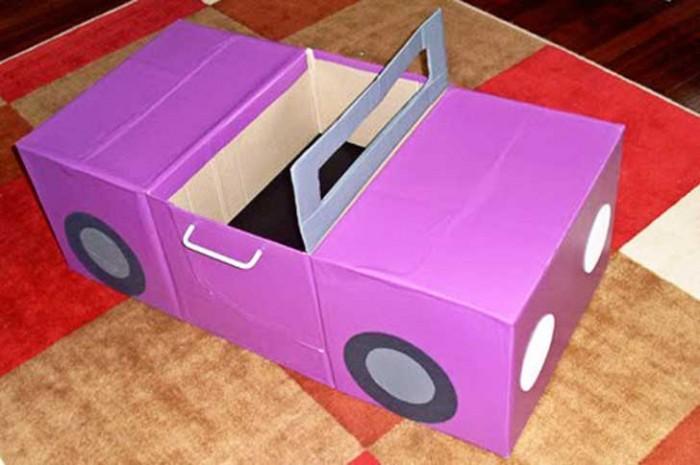 Ne jetez plus vos cartons voici 25 fa ons de les for Construire sa voiture