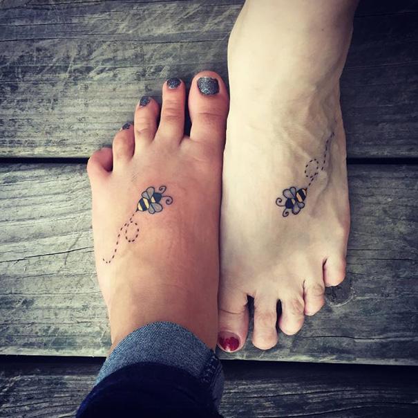 20 Jolis Tatouages Qu Ont Faits Ces Mamans Avec Leurs Filles