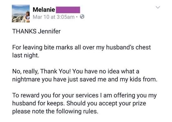 son mari la trompe elle crit une lettre sa ma tresse et le r sultat est parfait. Black Bedroom Furniture Sets. Home Design Ideas