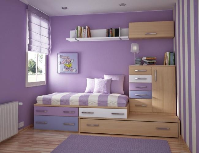 Si vous vivez dans un petit appartement voici 22 id es - Optimiser espace petite chambre ...