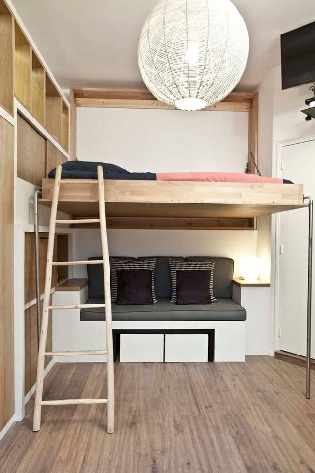 cool simple fonctionnel lgant et tout simplement naturel on aime with meubler un petit appartement. Black Bedroom Furniture Sets. Home Design Ideas