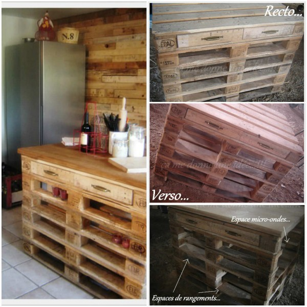 15 id es g niales de recyclage de palettes pour votre. Black Bedroom Furniture Sets. Home Design Ideas