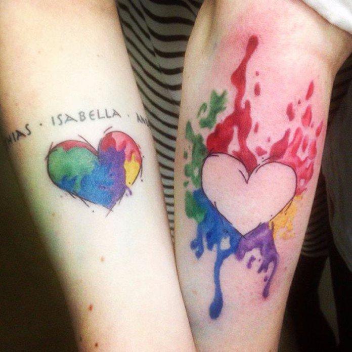 Voici 25 Tatouages De Soeurs Vraiment Reussis