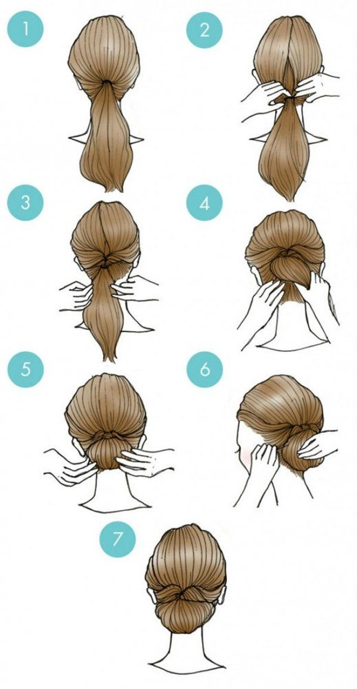For a chic bun, it's perfect.