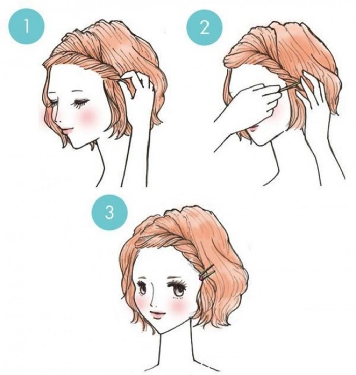If you really want to clear your forehead, you can do the same thing by squeezing a little bit more.