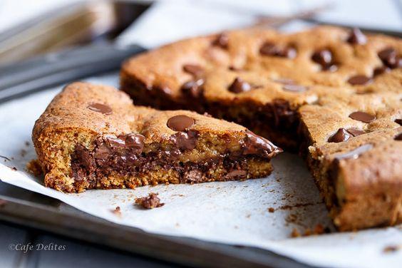 le cookie géant : une recette facile, qui deviendra vite